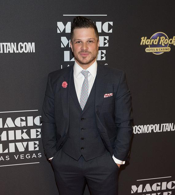 Mark Shunock at Opening Night of MAGIC MIKE LIVE LAS VEGAS at Hard Rock Hotel & Casino