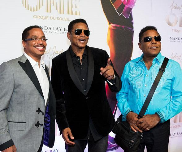 Michael Jackson 'ONE' Red Carpet: Marlon, Tito, Jackie, Prince Jackson, Katherine Jackson and More!