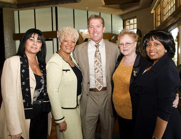 Mary Kajoyan, Mary Jo, John Huck, June Beland, Debra Nelson