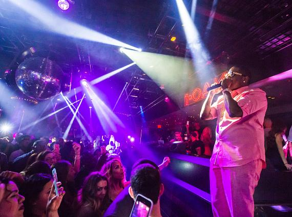 Mase performs at 1 OAK Nightclub