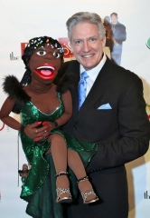 "Matilda and Patrick Murray Celebrated VIP/Media Grand Opening of ""Ja-Makin'-Me-Laugh"" at the D Hotel and Casino"