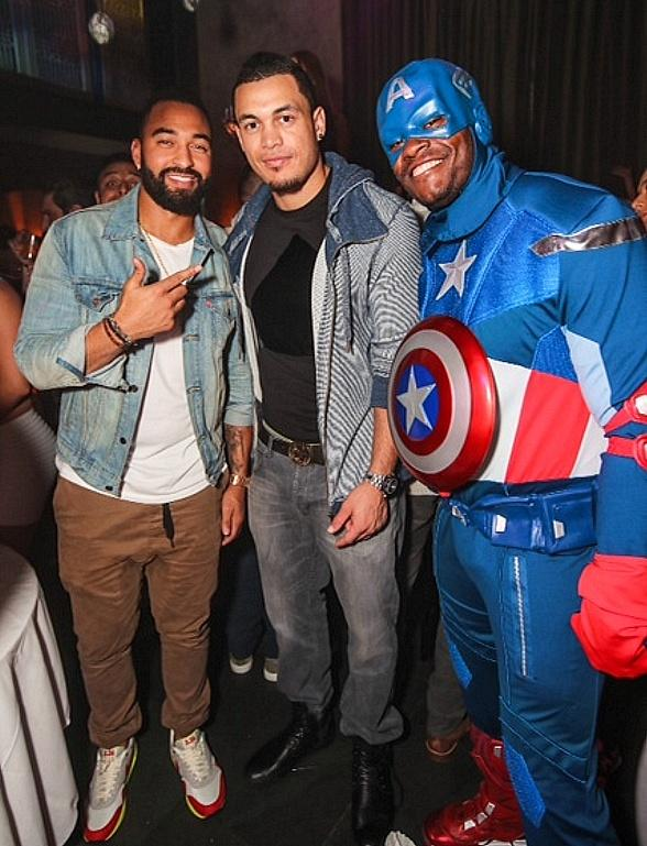 Matt Kemp Spotted at LAVO Champagne Brunch;  Don Cheadle, Daniel Negreanu and Antonio Esfandiari at Marquee