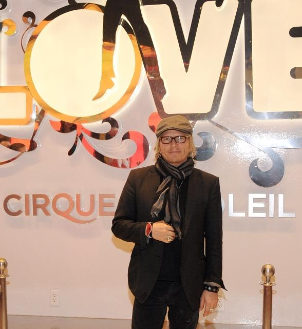 Matt Sorum at The Beatles LOVE