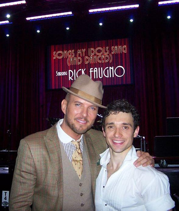 Matt Goss and Rick Faugno at SouthPoint Showroom