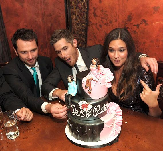 Matthew Rhys, Dave Annable and Odette Yustman