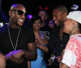 Floyd Mayweather Parties at Chateau Nightclub & Rooftop in Las Vegas