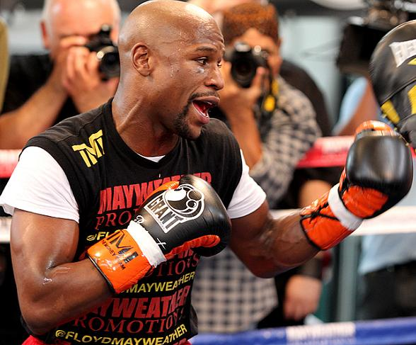 "Floyd Mayweather Media Day in Las Vegas: 'Money' says ""I Was Born for This"""