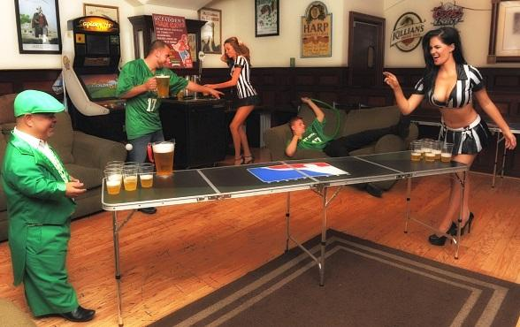McFadden's Hosts 'GI Joes and Army Hoes'