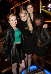 Chris Evans and Meghan Trainor Spotted at OMNIA Nightclub's Heart of OMNIA