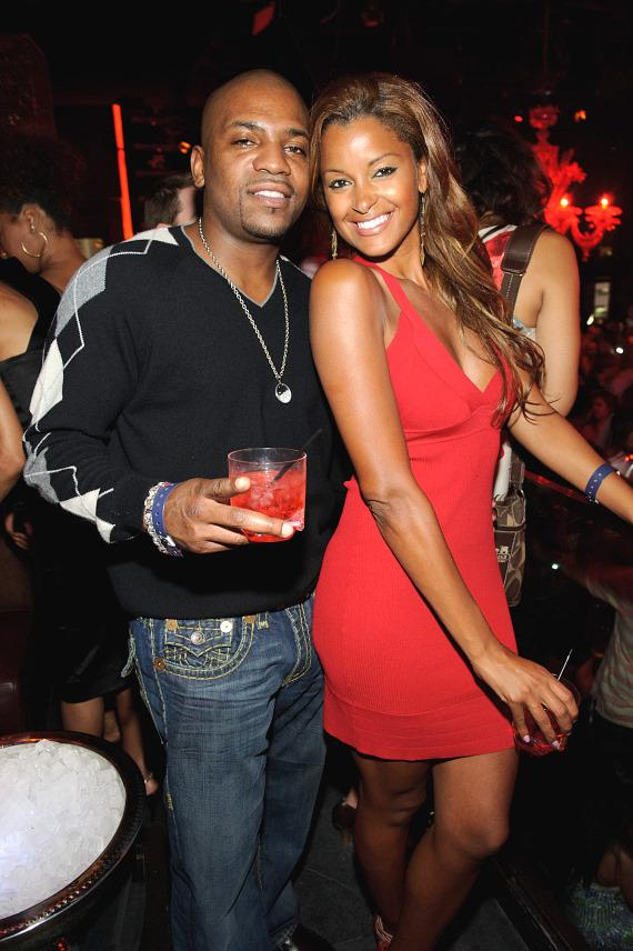 Mekhi Phifer and Claudia Jordan inside TAO