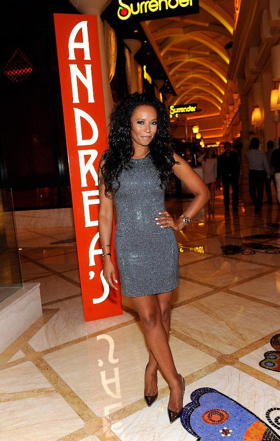 Singer Mel B celebrates her birthday at Andrea's at Encore Las Vegas