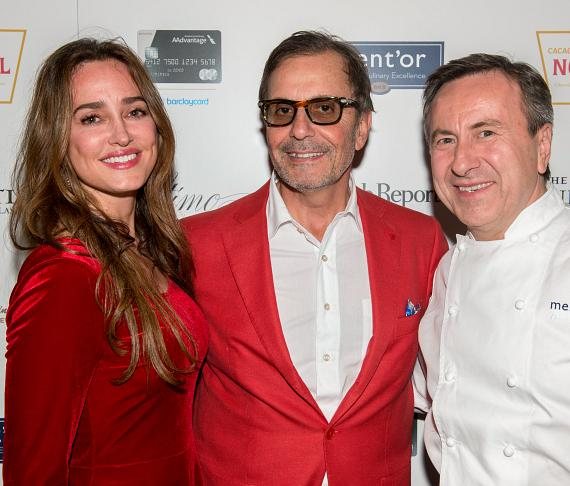Melissa Hess, Georges Daou, Chef Daniel Boulud