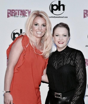 "Actress Melissa Joan Hart at ""Britney: Piece of Me"" at Planet Hollywood Resort & Casino"