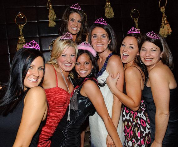 Melissa Rycroft and friends at LAVO