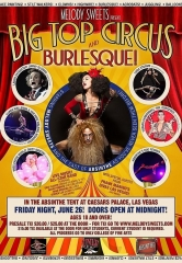 "Melody Sweets Presents ""Big Top Circus & Burlesque"" at ABSINTHE at Caesars Palace Friday, June 26"