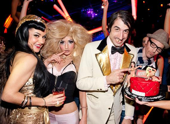 Melody Sweets, Penny Pibbets, and The Gazillionaire at LAVO