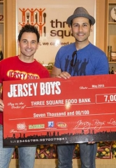 "Jersey Boys Las Vegas Celebrates Milestone Achievement with ""Four Seasons of Kindness"" Campaign in 2015"