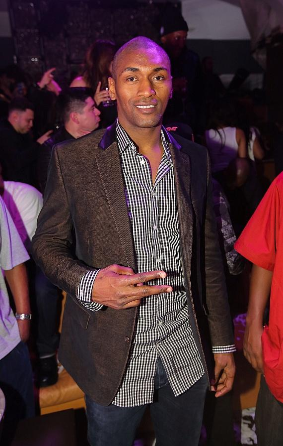 Metta World Peace at Hyde Bellagio in Las Vegas