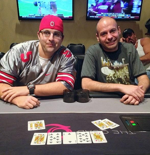 Micah Kreischer and Omar Abu-Eid at Quad Resort and Casino