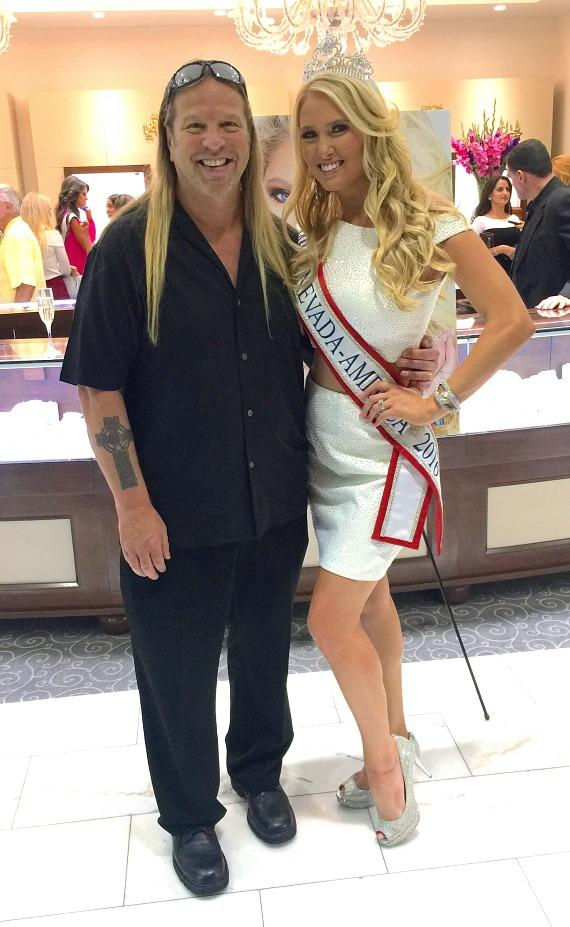 Michael Boychuck and Mrs. Nevada-America Lauren Cahlan
