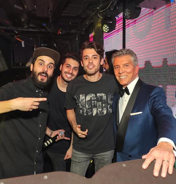 Michael Buffer and Cash Cash at Marquee