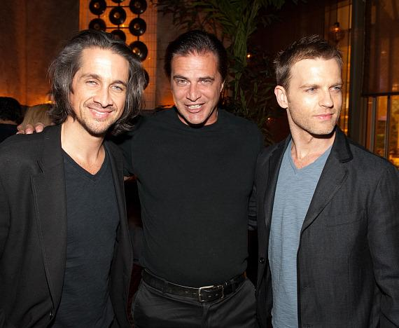 Michael Easton, John Enos III and Trevor St. John at LAVO