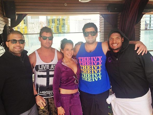 Newly Drafted NFL Defensive End Michael Sam Continues Celebrations at Marquee Dayclub