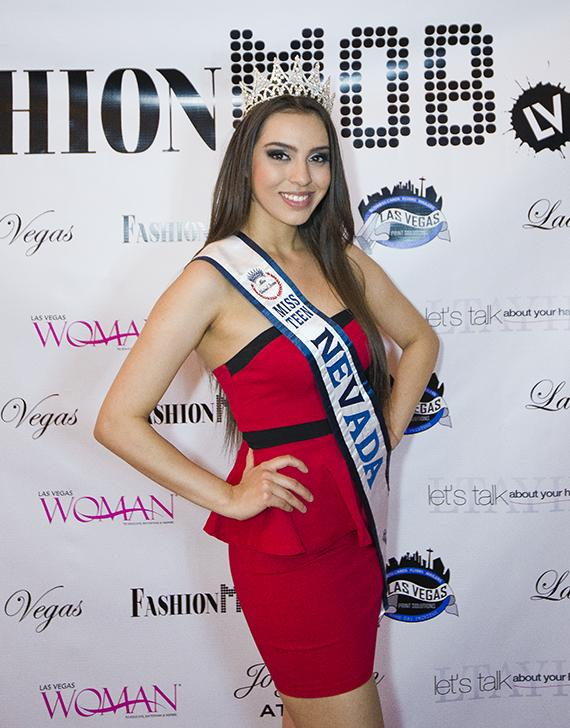 Michelle Nicoleyson (Miss Teen Nevada)
