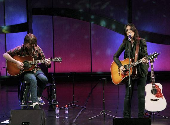 Michelle Branch performs in The Venetian Showroom
