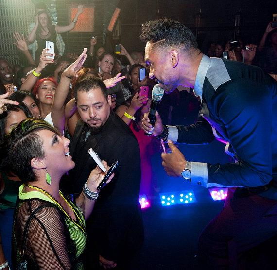 Miguel performs at LAVO