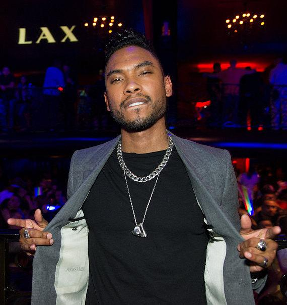 R&B Singer Miguel at LAX Nightclub
