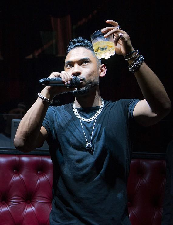 R&B Singer Miguel performs at LAX Nightclub