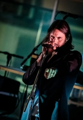 Swedish indie-pop trio Miike Snow performs at Boulevard Pool at The Cosmopolitan of Las Vegas
