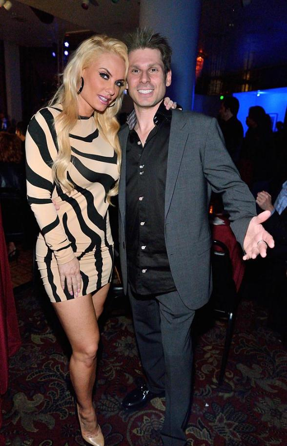 Mike Hammer with Nicole 'Coco' Austin and Vince Neil at 'Vintage Vegas' in Bally's Las Vegas