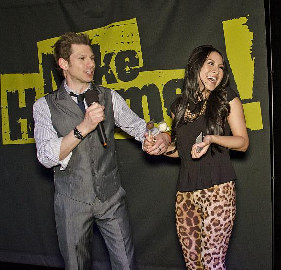 Mike Hammer with American Idol Star Jasmine Trias