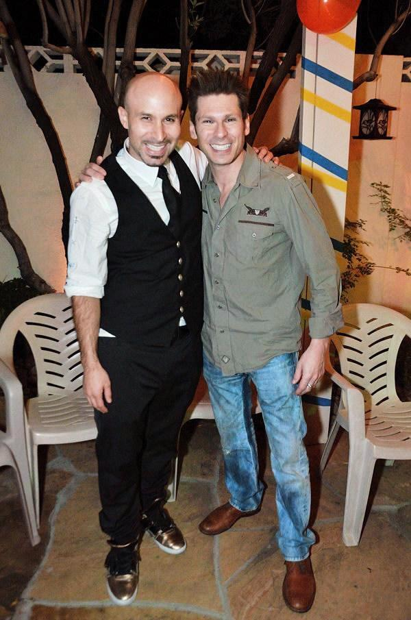 Seth Grabel and Mike Hammer in Las Vegas