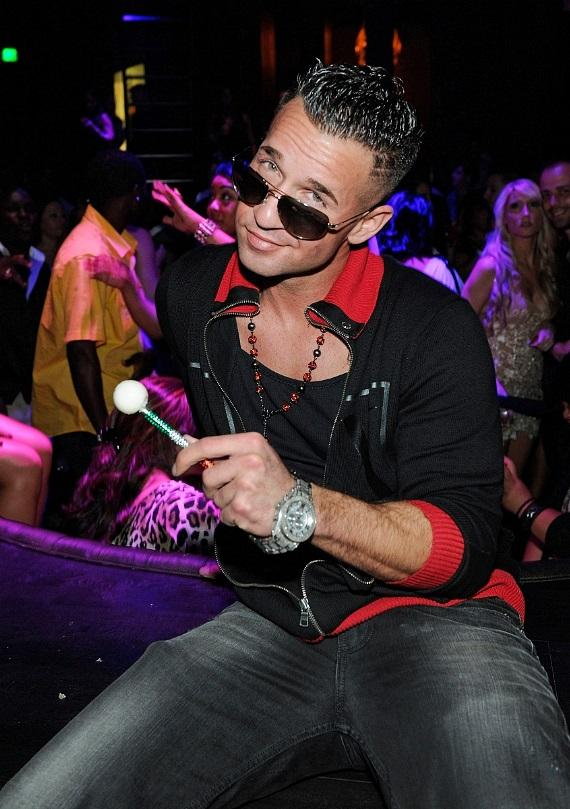 Mike Sorrentino shows off his signature Sugar Factory Couture Pop
