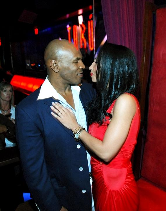 Mike Tyson and wife Kiki at Tabú Ultra Lounge