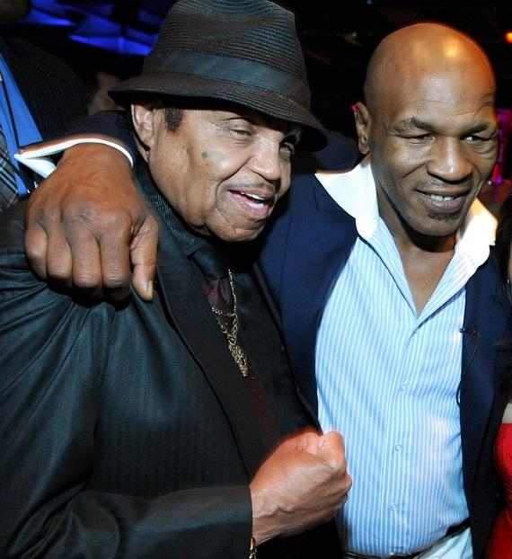 Mike Tyson with Joe Jackson at Tabú Ultra Lounge