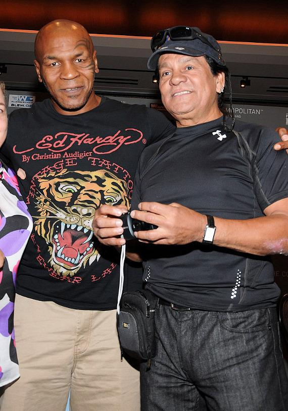 MikeTyson and Robert Duran