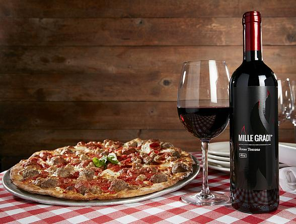 "Grimaldi's Creates Unique Wine ""Mille Gradi"" with Italian Winery"