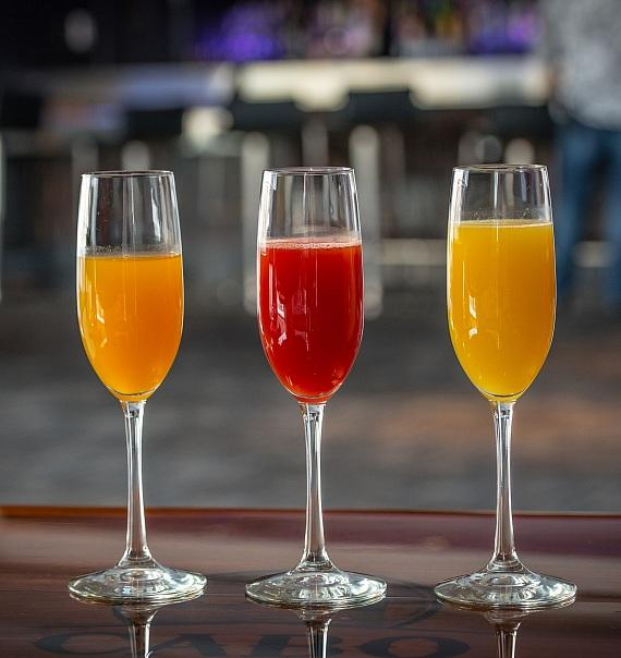 Cabo Wabo's bottomless mimosas and Bellinis