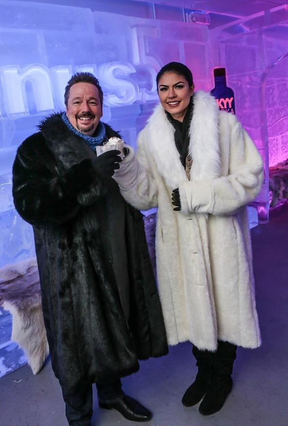 Minus5 Ice Bar Honors Entertainer Terry Fator with Signature Cocktail