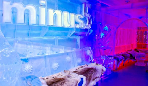 Minus5 Ice Bar at Monte Carlo Resort Offers Free Shots with Entry on Labor Day, Sept. 1