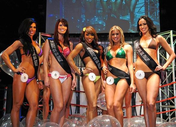 Miss Knockout 2nd Preliminary Winners at Studio 54 Las Vegas
