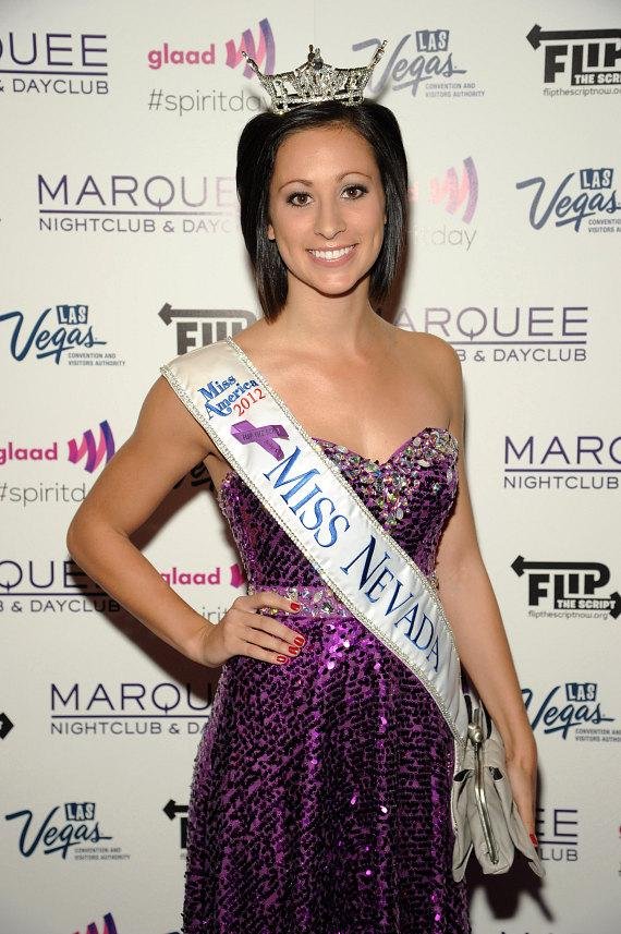 Miss Nevada Randi Sundquist at Marquee