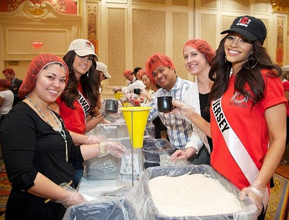 Stop Hunger Now Partners with MISS USA Pageant and The Venetian Las Vegas