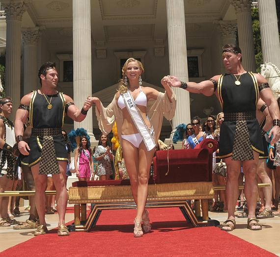 Miss USA 2009 Kristen Dalton at Caesars Palace
