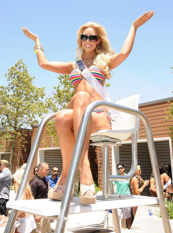 Miss Nevada Sarah Chapman at Palms Place Hotel and Spa