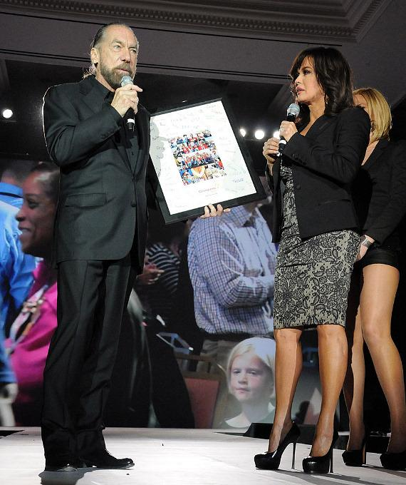 John Paul DeJoria and Marie Osmond